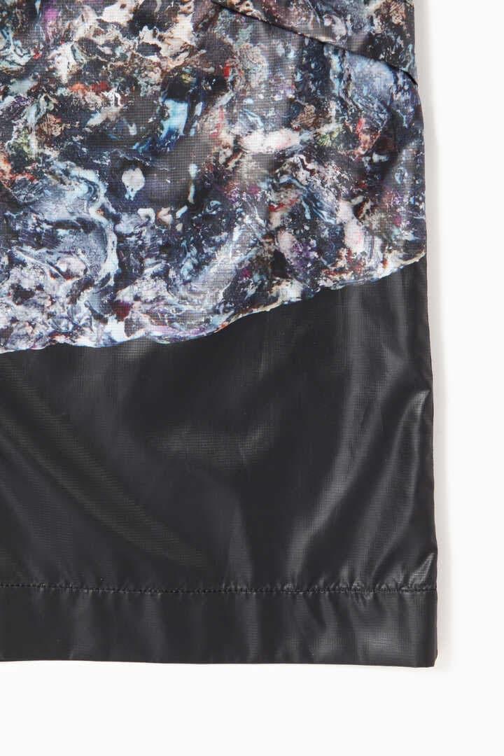 stone printed rip coat