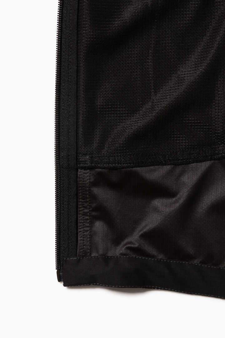 reflective printed raschel rip jacket