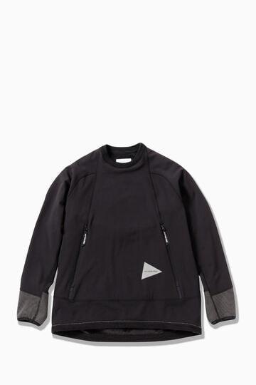 backside shaggy pullover