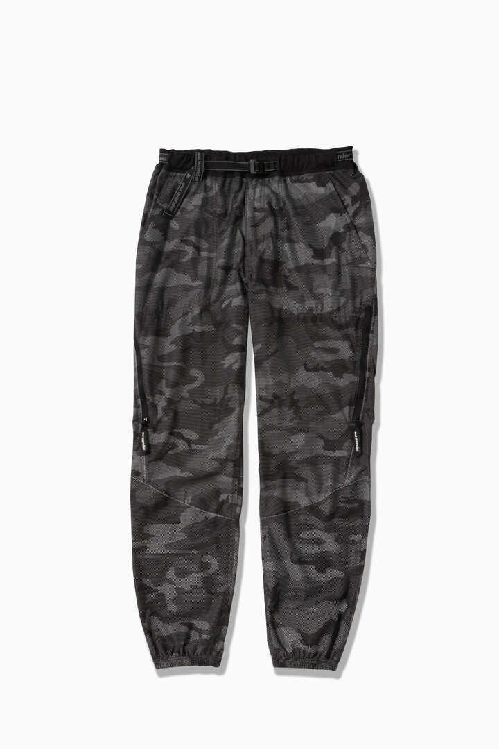 reflective printed raschel rip pants