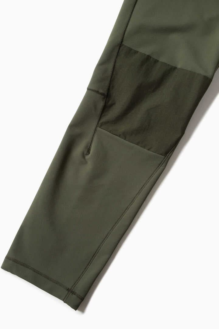 stretch shell tapered pants