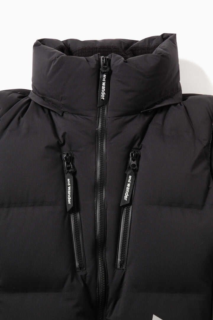 heather rip down jacket