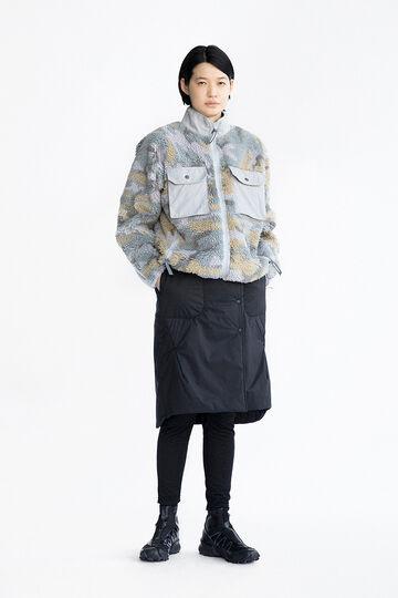 jacquard boa jacket