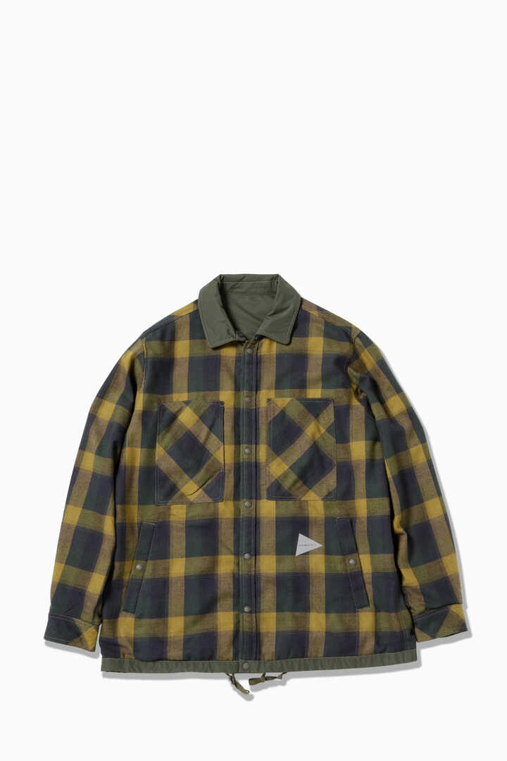 reversible nylon jacket