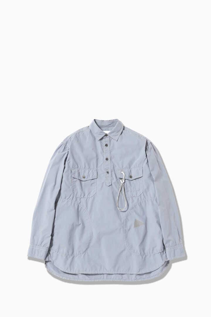 CORDURA typewriter long sleeve over shirt