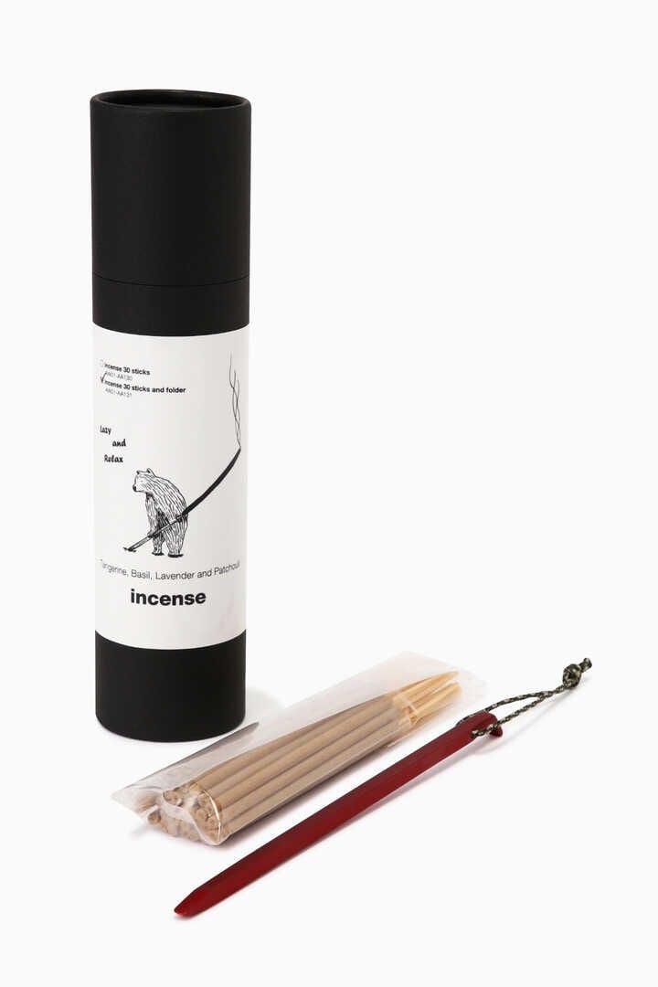 incense + holder
