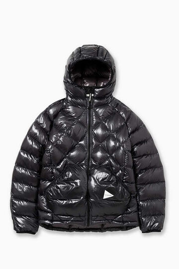 diamond stitch down jacket