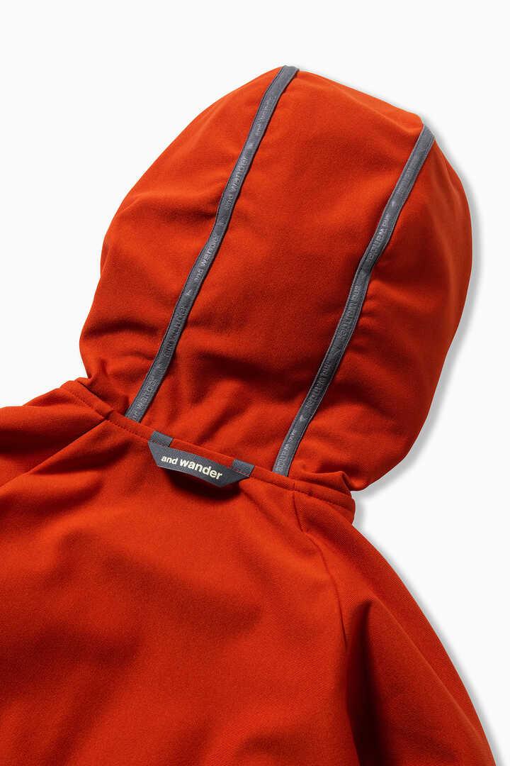 light fleece hoodie reflect