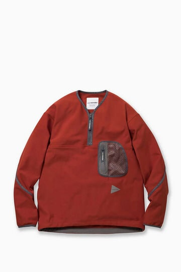 light fleece pullover