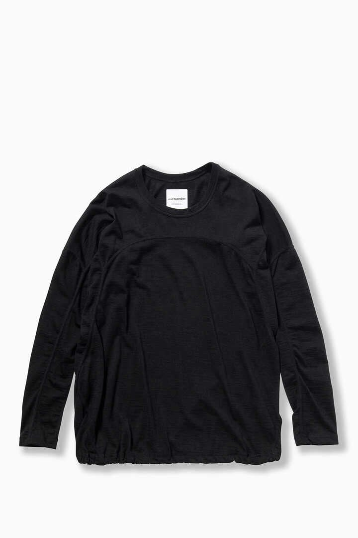merino base long sleeve T (W)