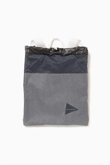 grid cloth nap sack