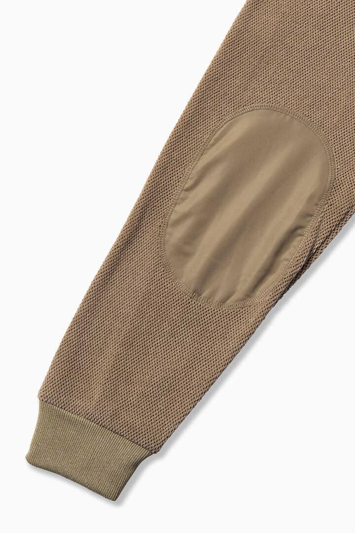 fleece mesh pullover