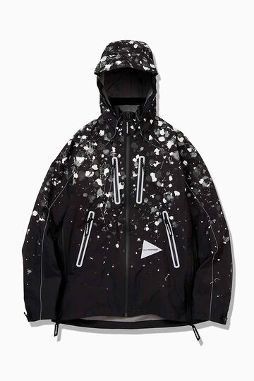 splatter hand paint e vent jacket