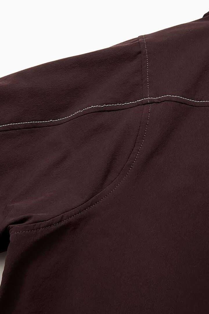 nylon double cloth hoodie
