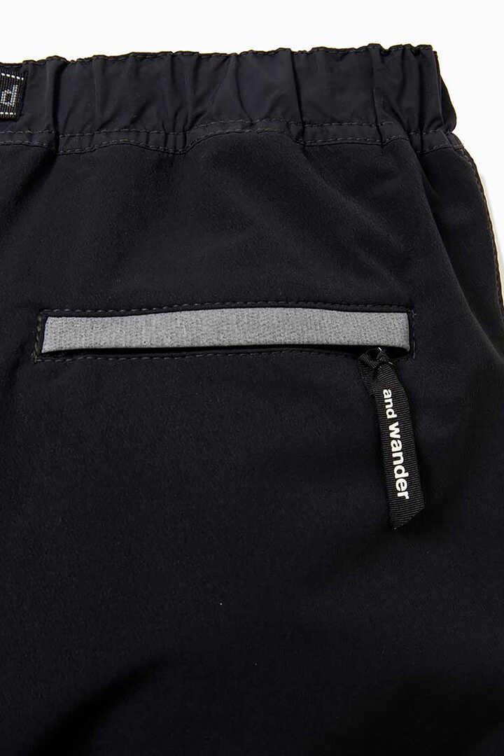 splatter print nylon double cloth pants