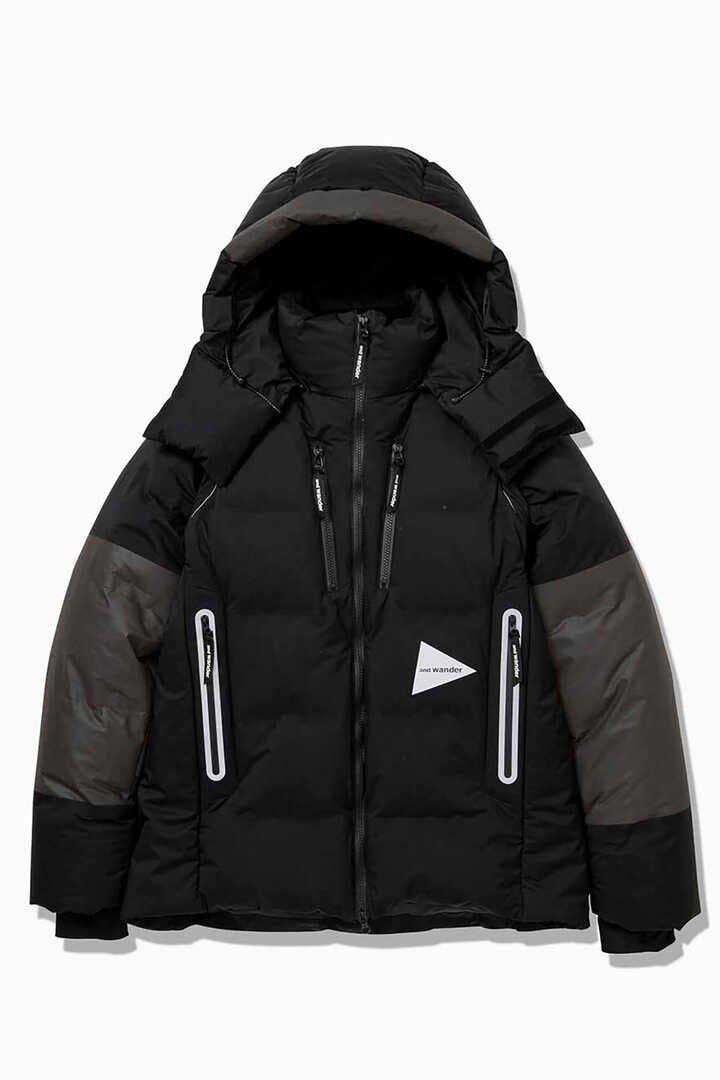 heather rip down jacket