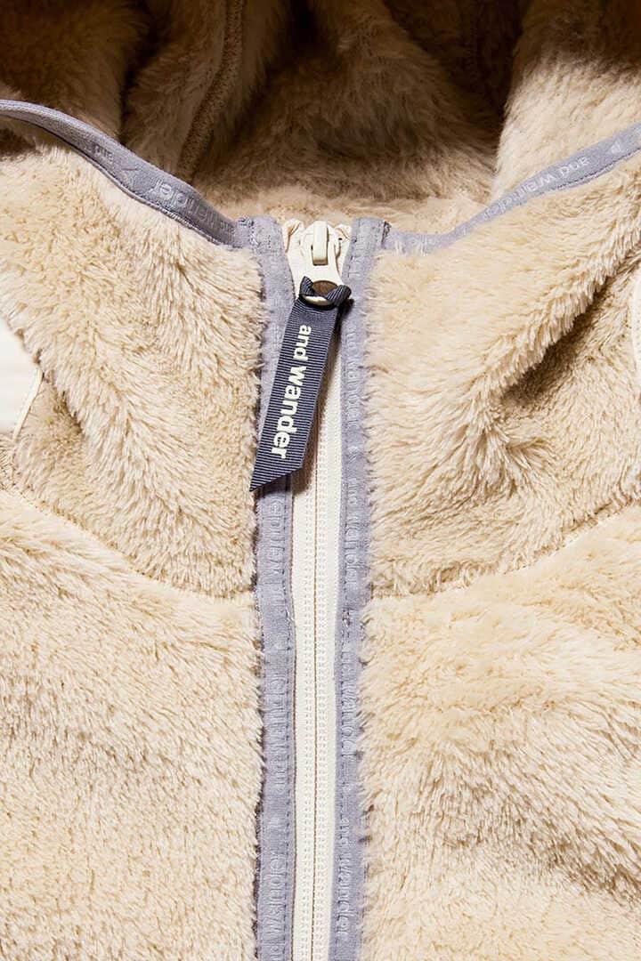 high loft fleece hoodie