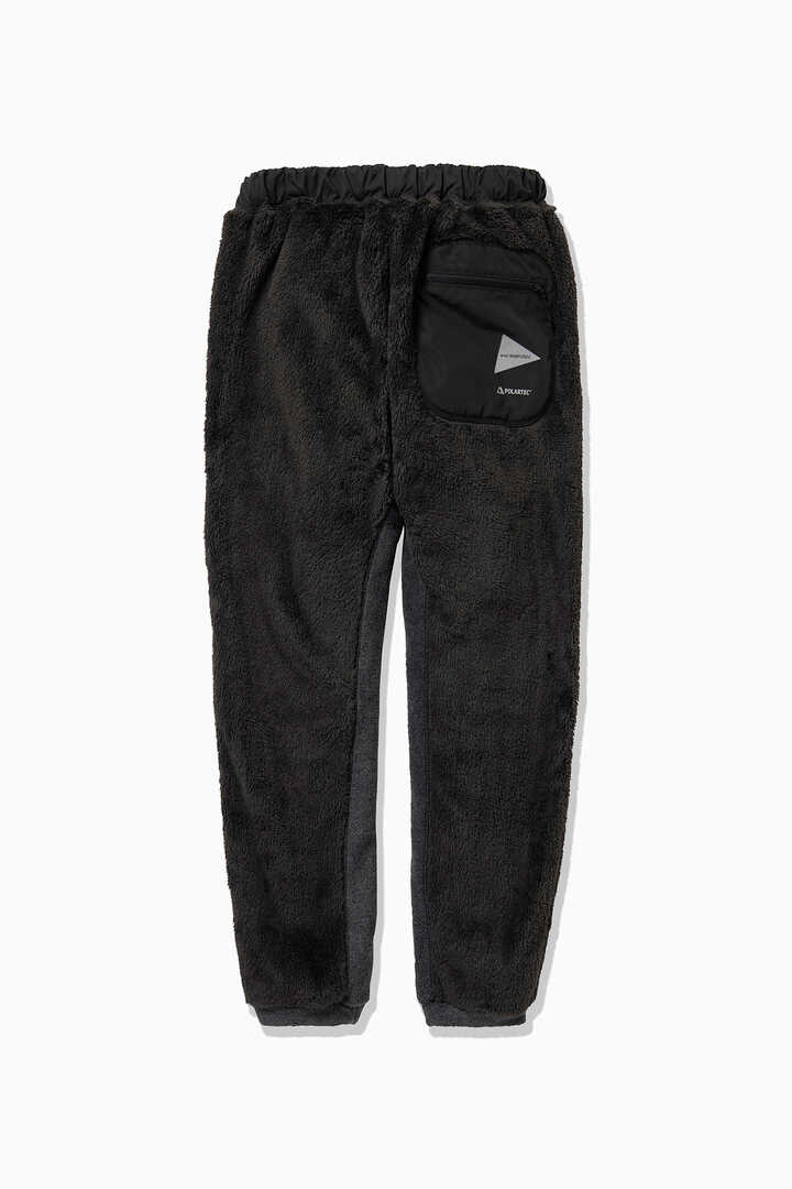 high loft fleece long pants