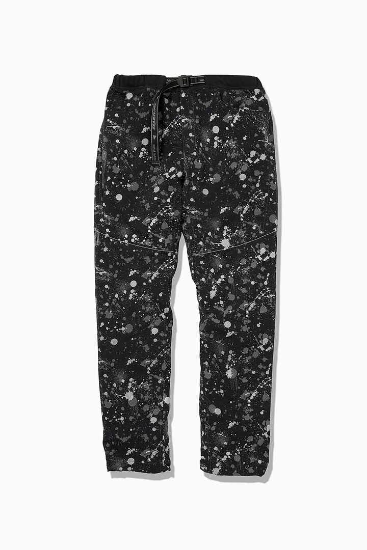 splatter print dry stretch pants