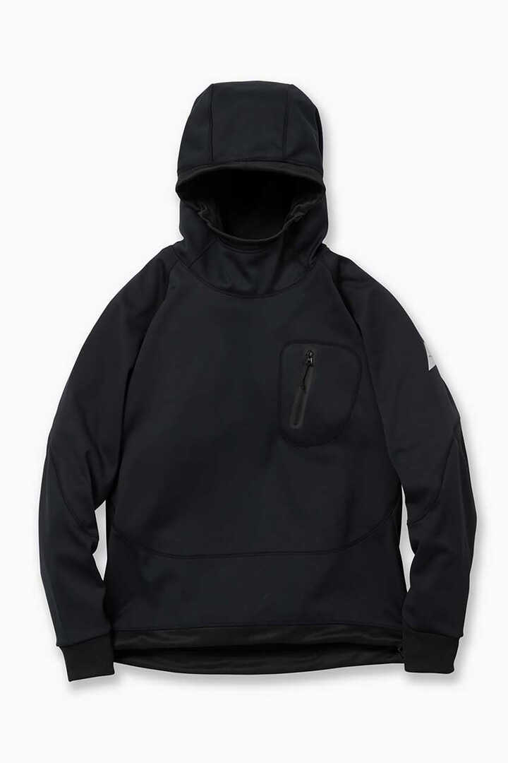 back nap raising hoodie