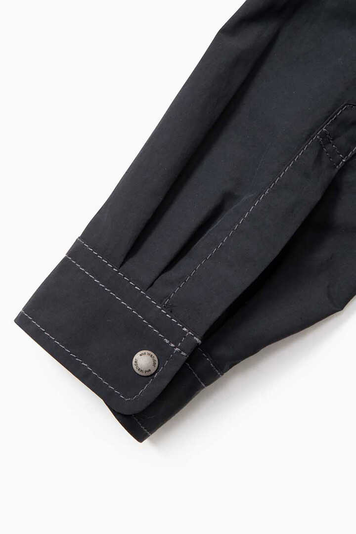 laser hole nylon taffeta jacket