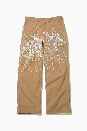 splatter print CORDULA dry chino pants