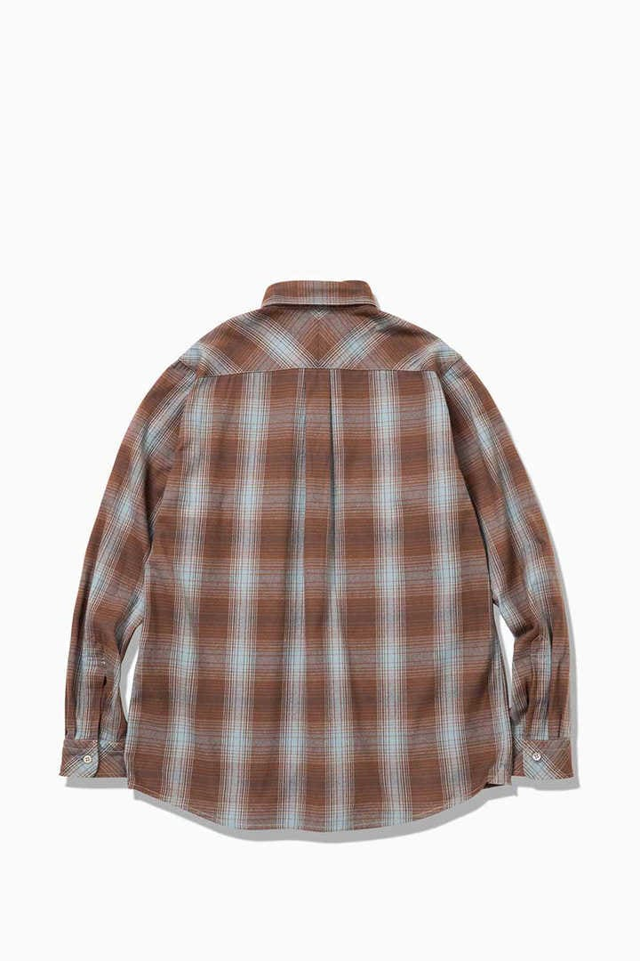 thermonel check shirt (M)