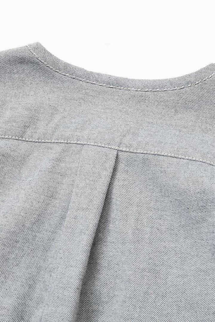 thermonel collarless shirt (W)