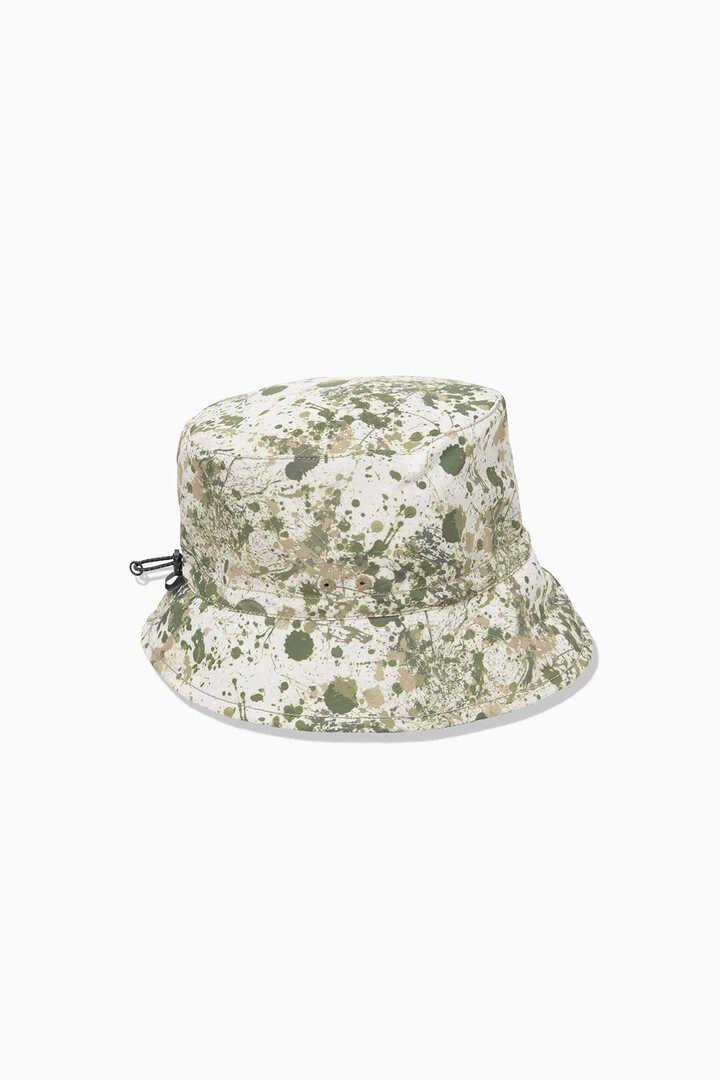 splatter print hat