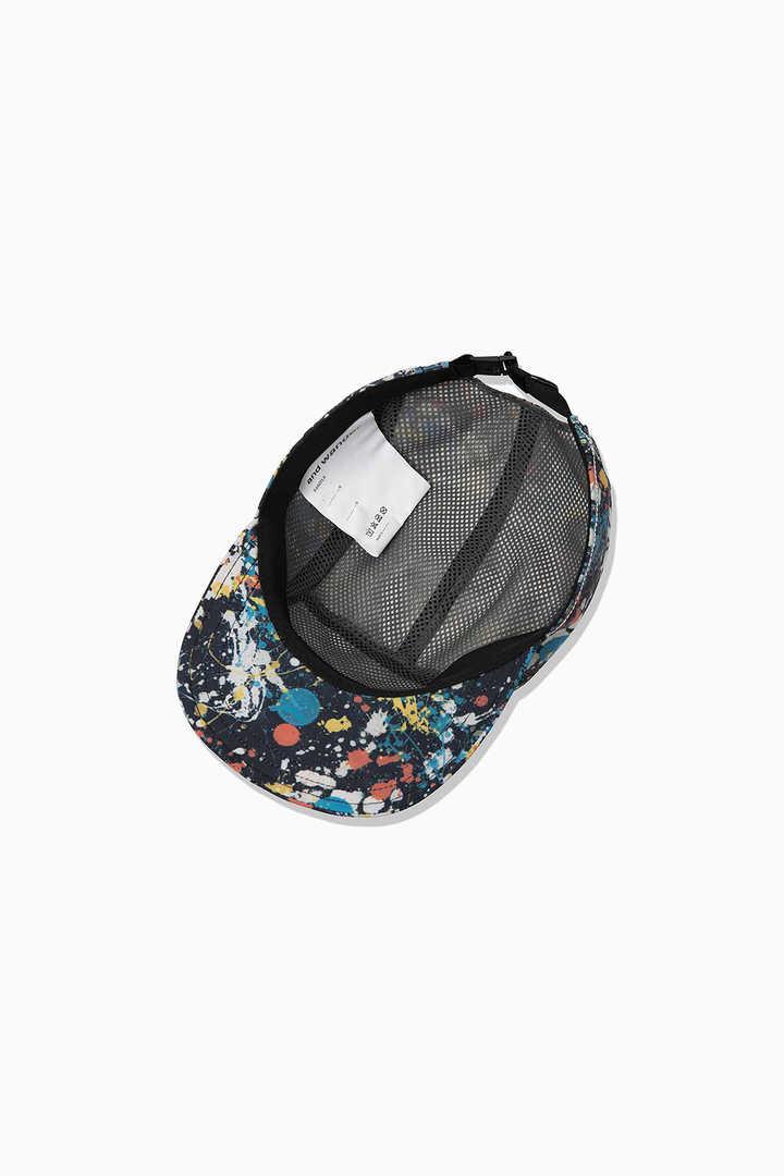 splatter print cap