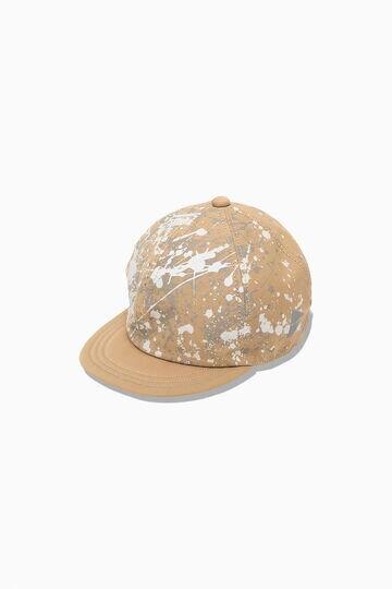 splatter print CORDULA dry chino cap