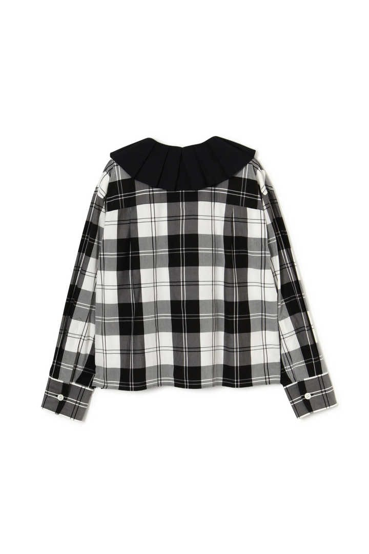 MONO CHECK SILK COTTON2
