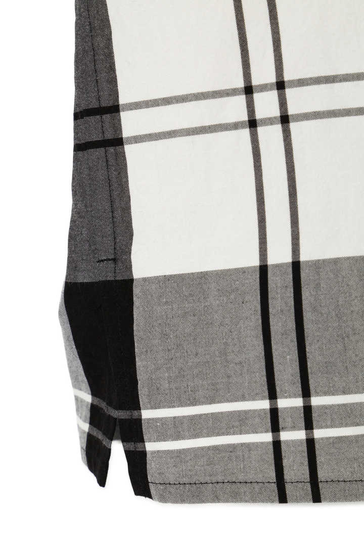 MONO CHECK SILK COTTON3