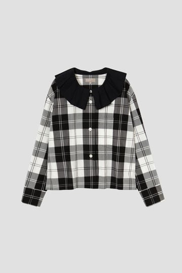 MONO CHECK SILK COTTON_011