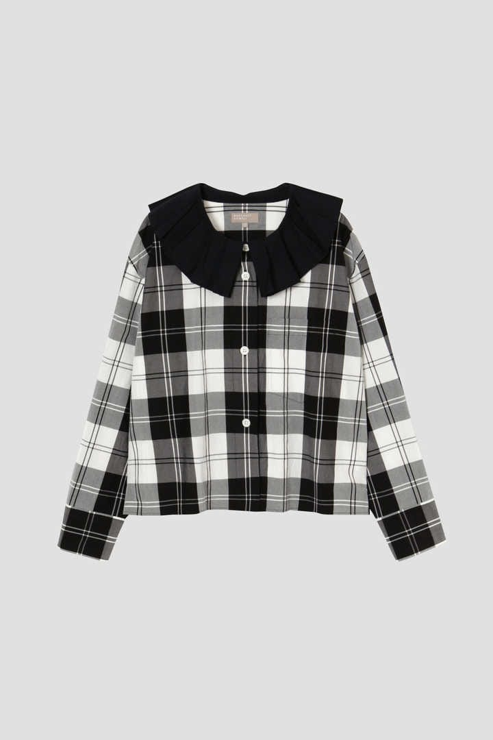 MONO CHECK SILK COTTON1