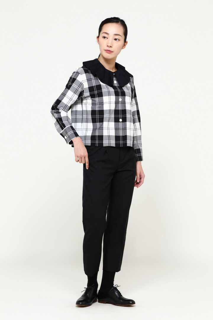 MONO CHECK SILK COTTON4