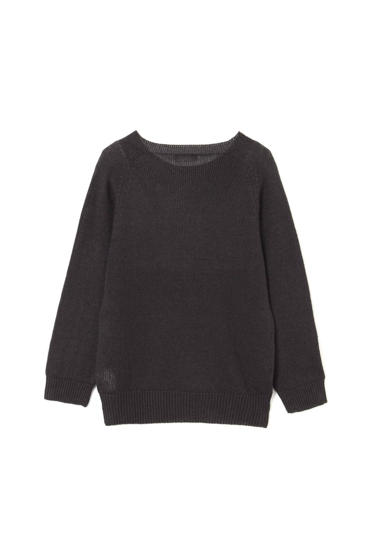 LINEN COTTON CREW NECK2