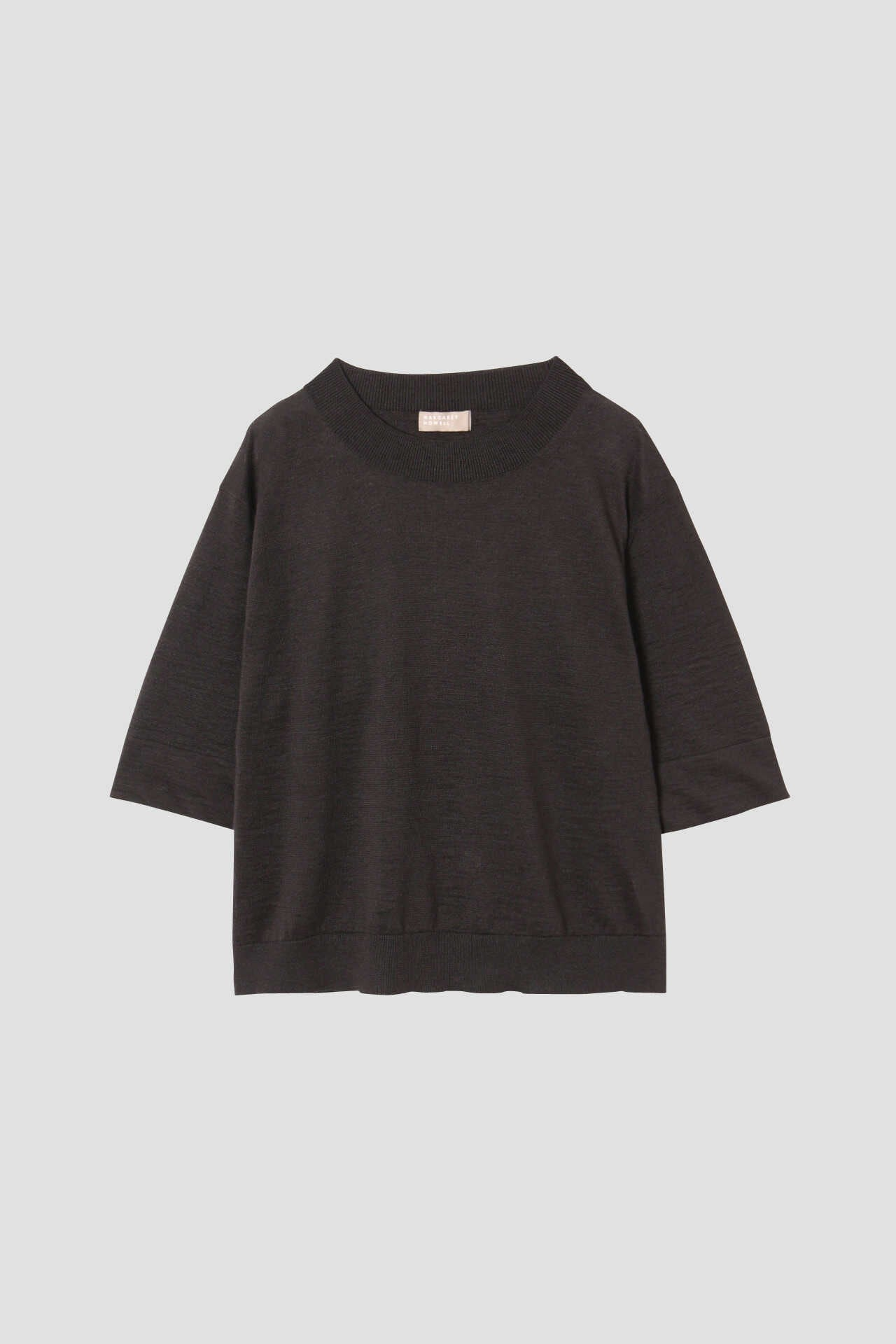 RAMIE COTTON DEEP RIB T SHIRT1