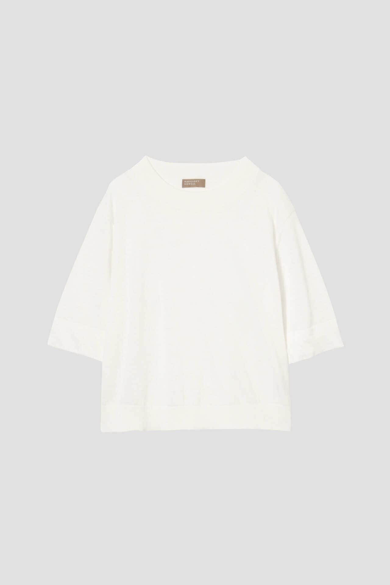 RAMIE COTTON DEEP RIB T SHIRT4