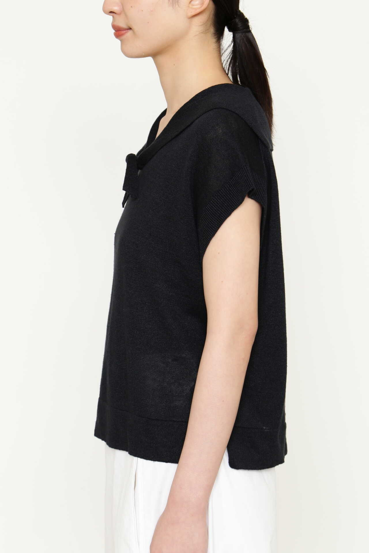 LINEN SILK SAILOR COLLAR9