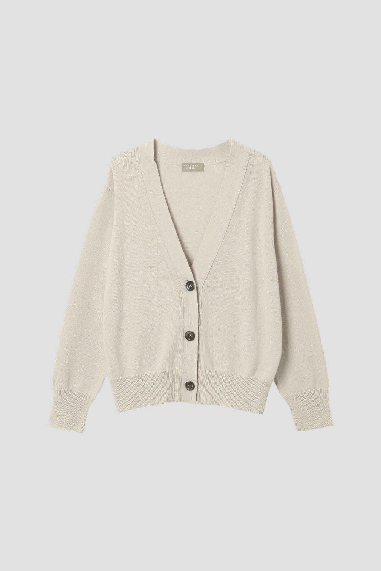 COTTON CASHMERE V NECK CARDIGAN1