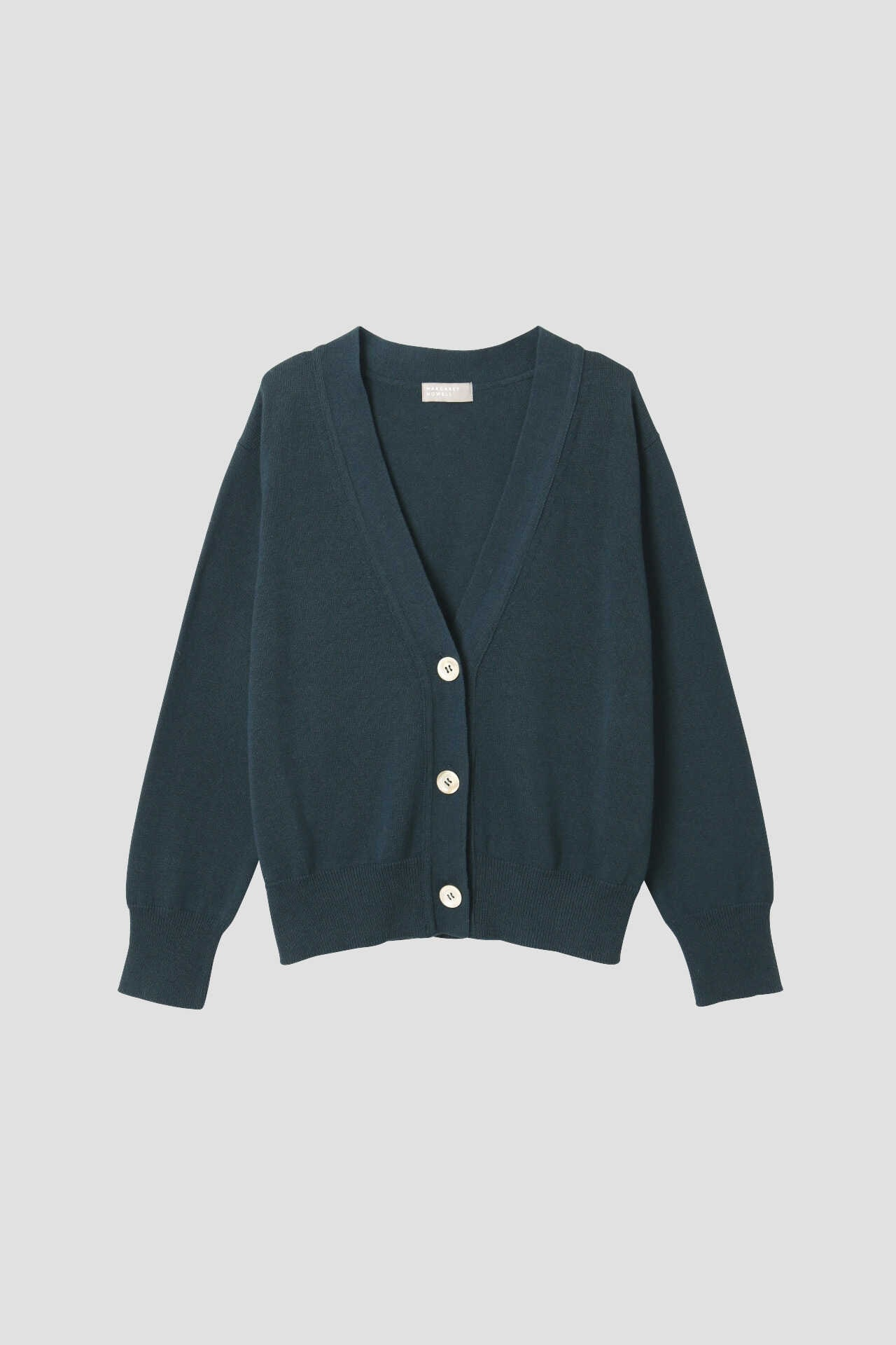 COTTON CASHMERE V NECK CARDIGAN9