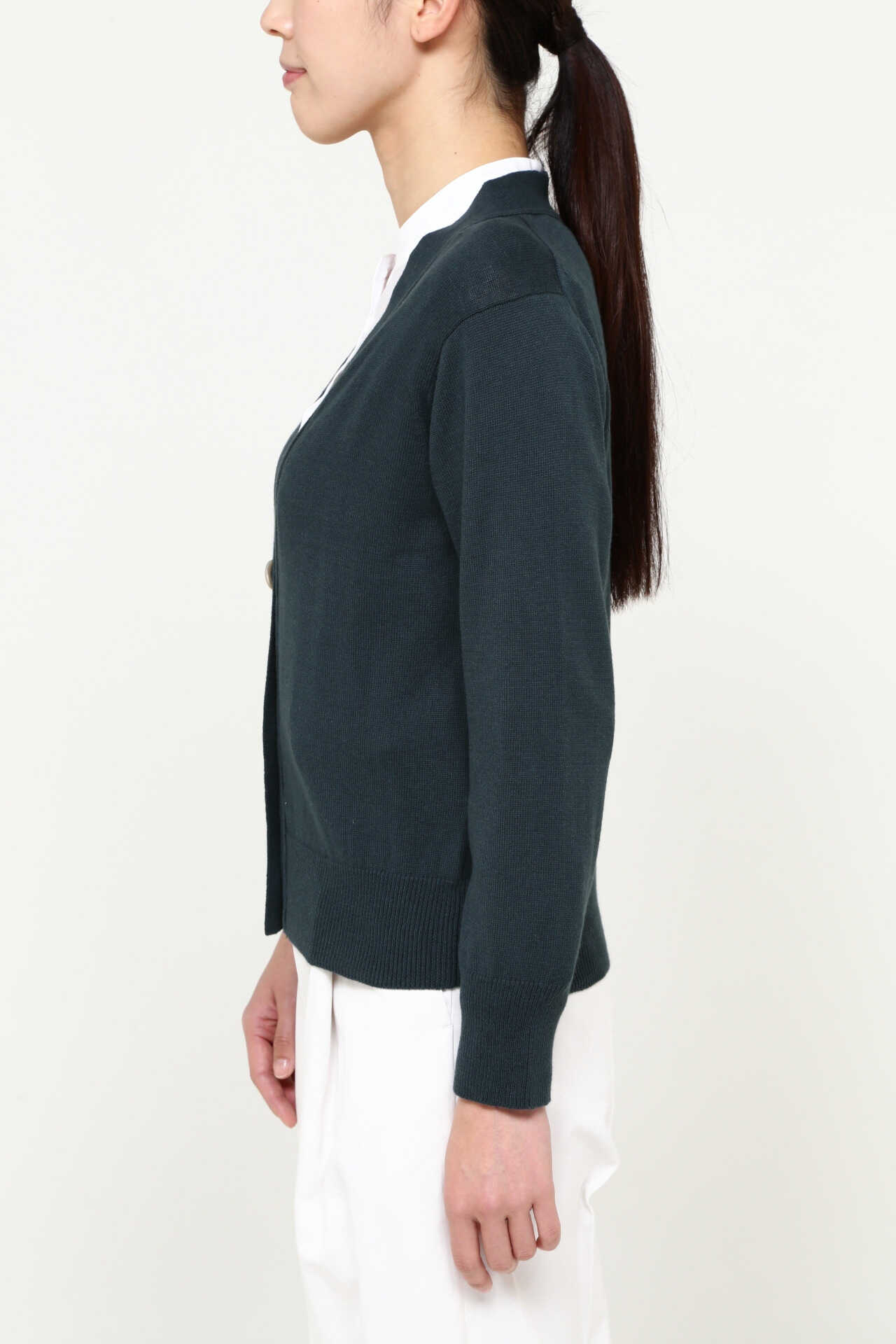 COTTON CASHMERE V NECK CARDIGAN12