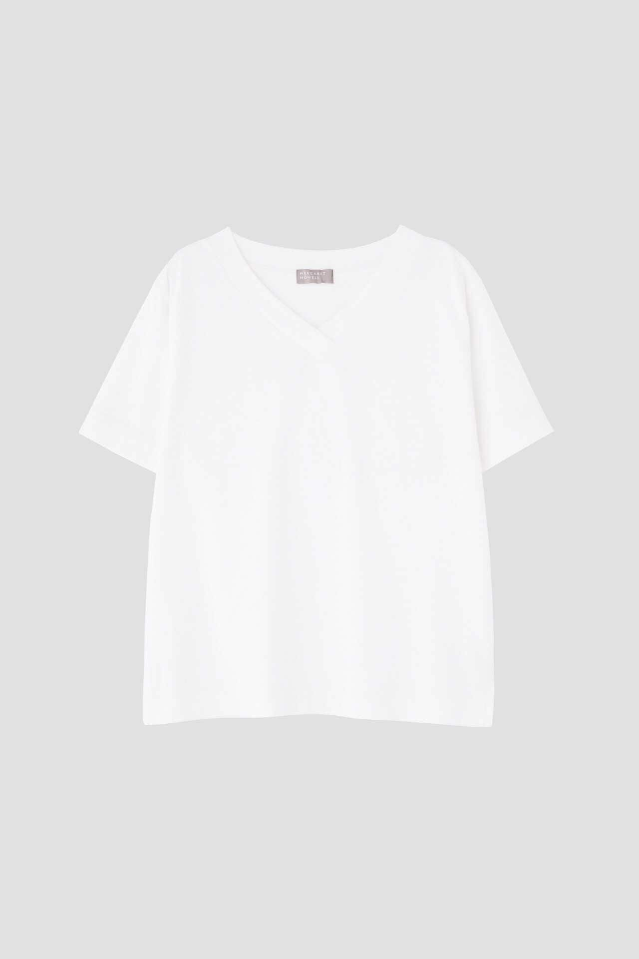 COTTON V NECK T SHIRT7