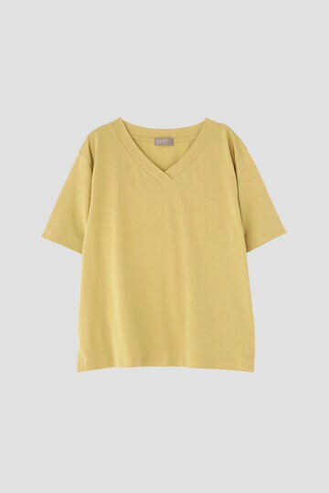 COTTON V NECK T SHIRT_060