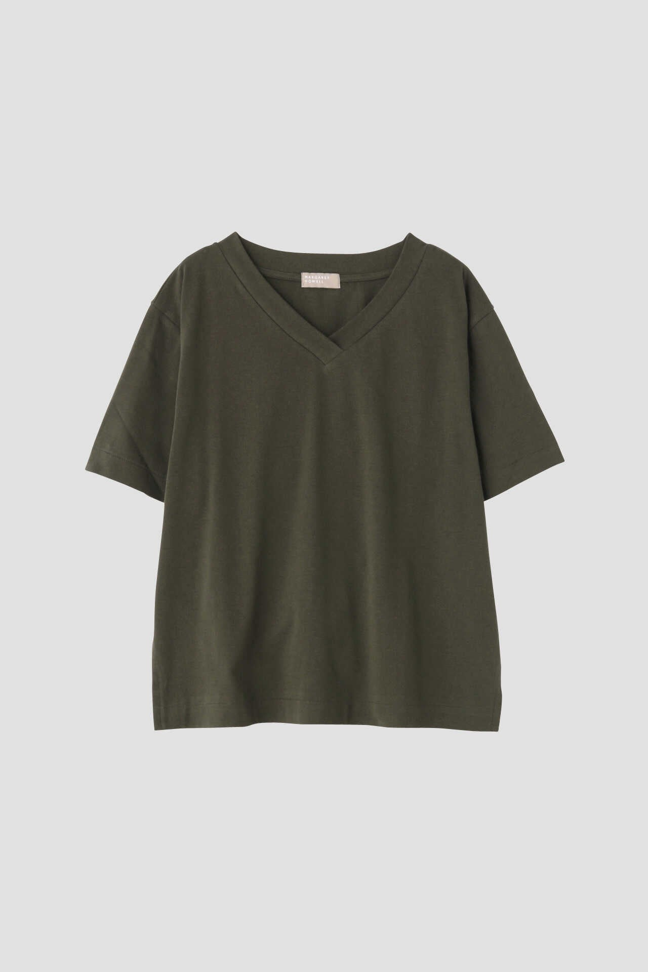 COTTON V NECK T SHIRT11