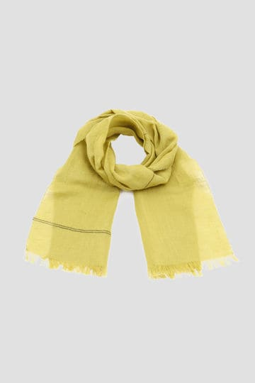 COTTON LINEN STRIPE SCARF_063