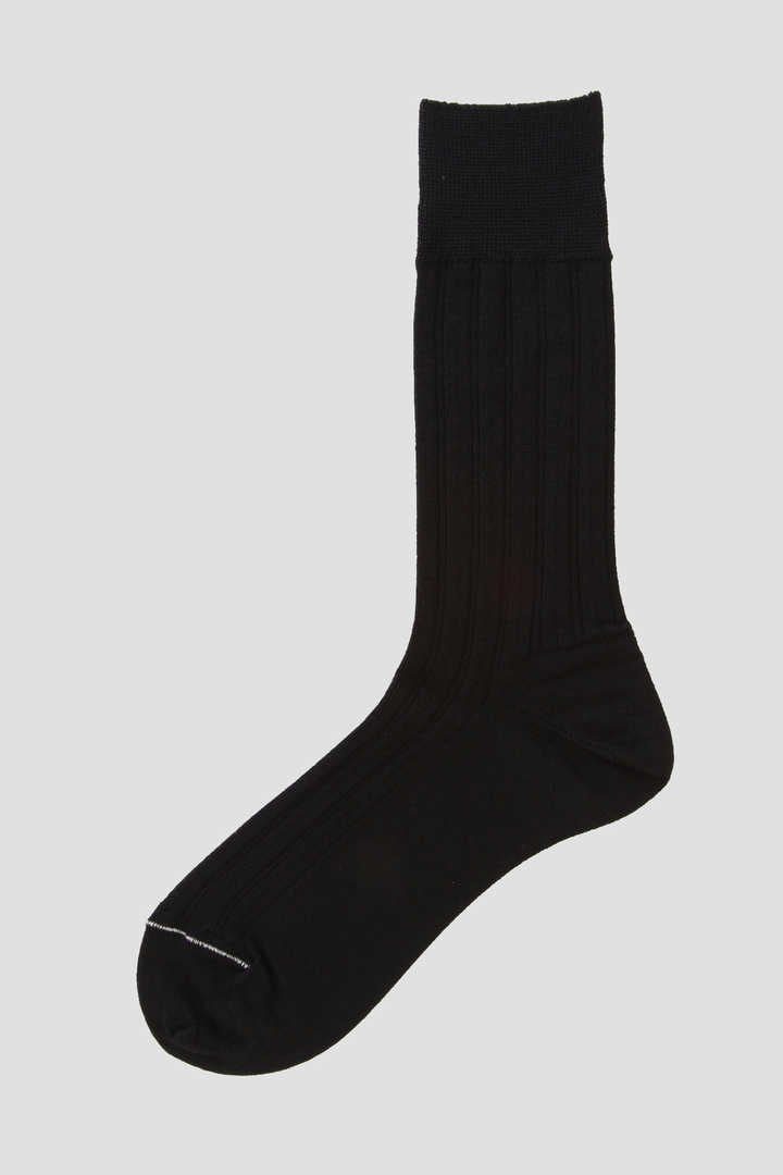 SHORT RIB WOOL SOCK1