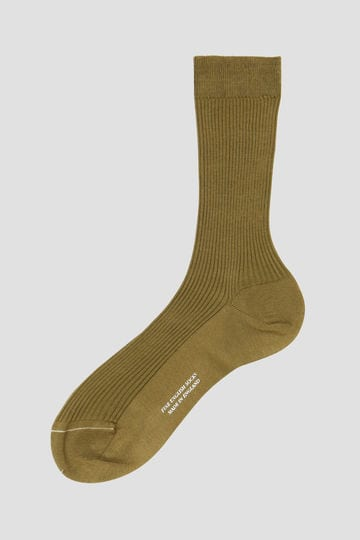 SHORT RIBBED SOCK_180