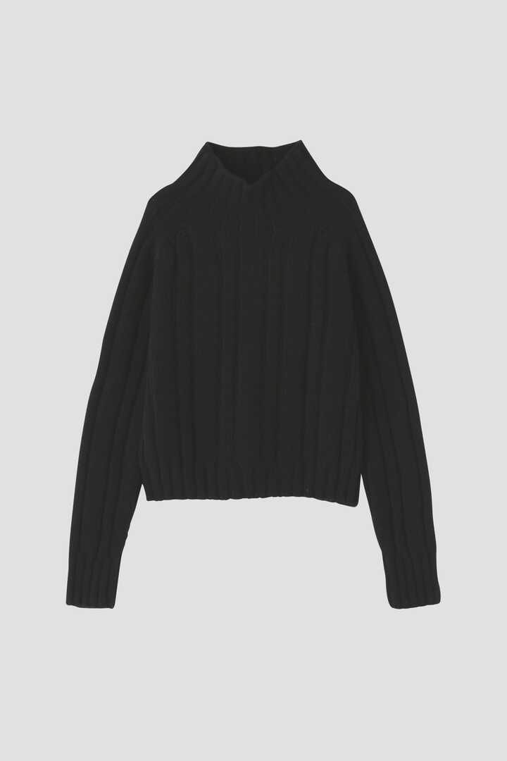 HICK NECK RIBBED JUMPER1